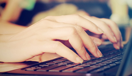 Test your typing online